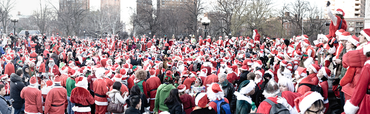 SANTAS EVERYWHERE