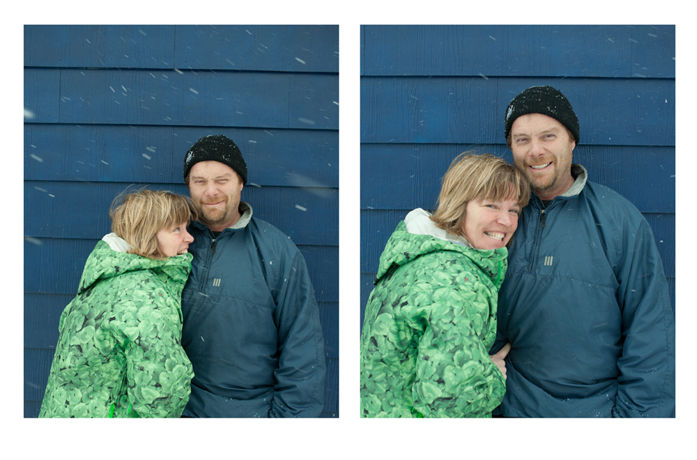 Paige and Emmet are amazing people. Series from the morning of the best powder day in 2012..