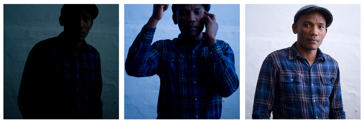 I shot three photos of Jean Luc really quick before my batteries died, the natural triptych.
