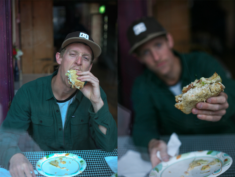 Cody is a very good skateboarder, and a better sandwich eater.